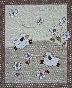 ulla s quilt world sheep quilts baby blanket and pillowcase