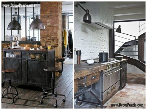 Industrial Kitchen Furniture Inustrial Style Kitchen Decor And Furniture Top Secrets