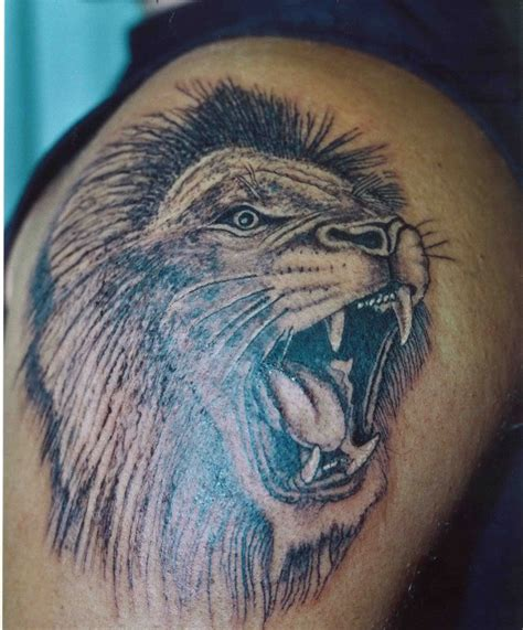 mens tattoos 187 lion tattoos for men