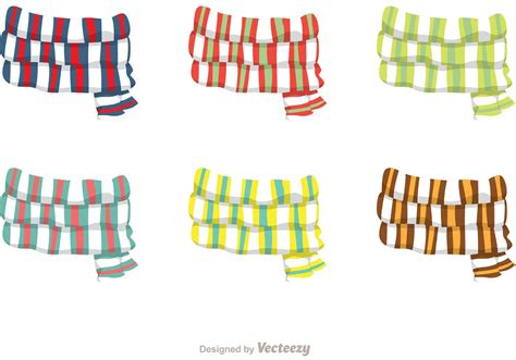 Neck Scraf Syall Limited Stock striped neck scarf vectors free vector stock graphics images