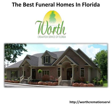 ppt the best funeral homes in florida powerpoint