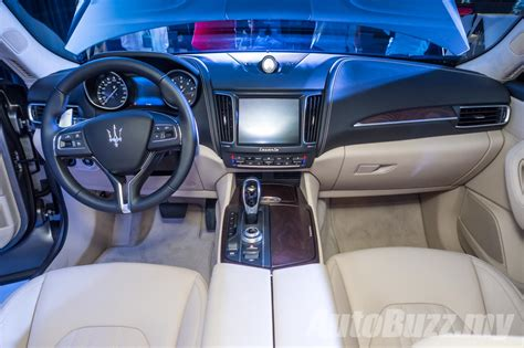 maserati levante interior 2016 maserati levante previewed in malaysia price begins