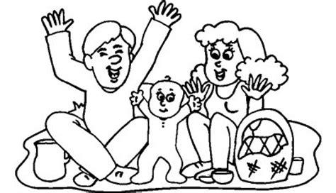 imagenes de la familia escolar para colorear dibujos de familias felices para pintar colorear im 225 genes