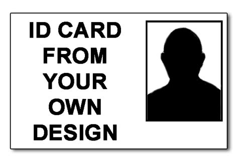 design your own business id card staff photo id cards from your own design printing