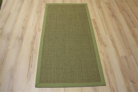 teppich 300x400 sisal teppich manaus mit bord 252 re gr 252 n meliert 300x400 cm