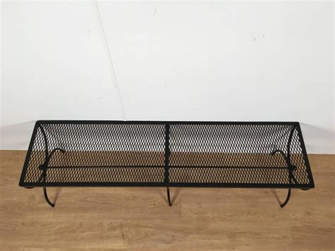wrought iron benches for sale salterini wrought iron double curule bench for sale at 1stdibs