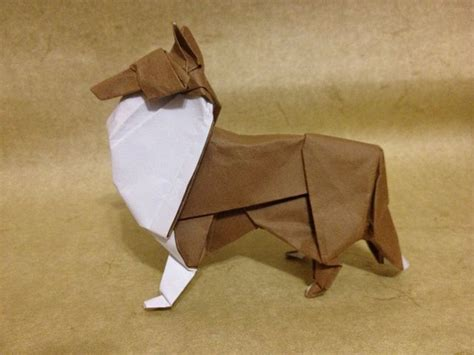 Origami Shepherd - 26 best images about origami on border collies