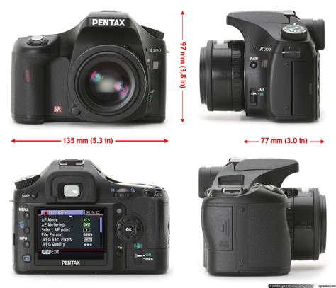 pentax digital reviews pentax k200d review digital photography review