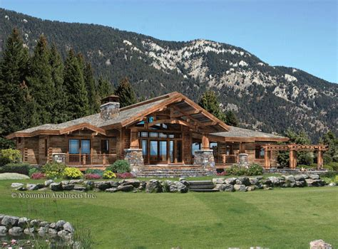 Bellitudoo Domy Z Drewna I Kamienia Log Cabin House Plans Level 1