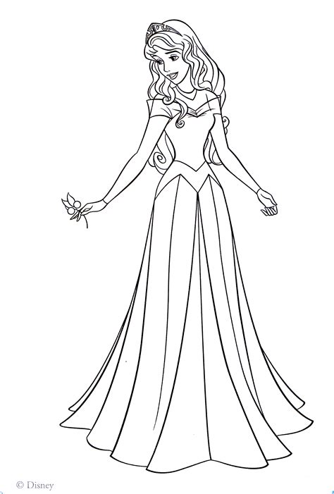coloring pages for princess aurora aurora princess coloring pages az coloring pages
