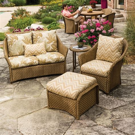 lloyd outdoor furniture lloyd flanders weekend retreat wicker 4 patio set