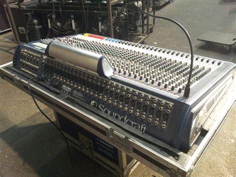 Mixer Gb8 soundcraft gb8 24 image 286205 audiofanzine