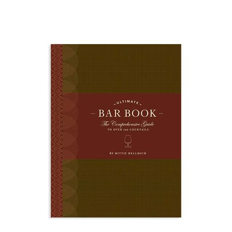 The Ultimate Bar by The Ultimate Bar Book Eco Paper At Vickerey