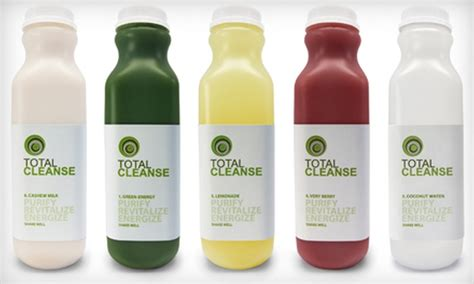 5 Day Detox Juice Cleanse Groupon by 51 Two Day Juice Cleanse Total Cleanse Groupon