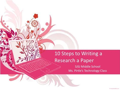 Steps On How To Make A Research Paper - 10 steps to writing a research a paper