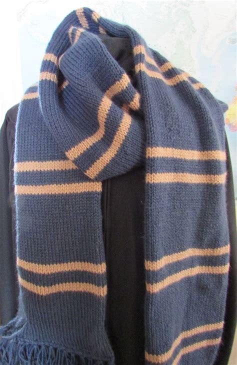 knitting pattern hogwarts scarf best 20 ravenclaw scarf ideas on pinterest