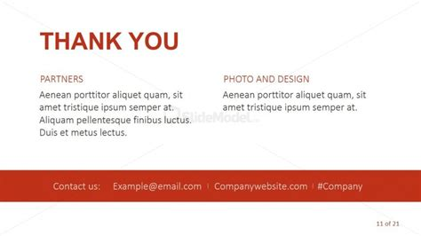 thank you page template thank you page for cropped photos template slidemodel
