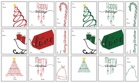belvedere designs free printable gift tags