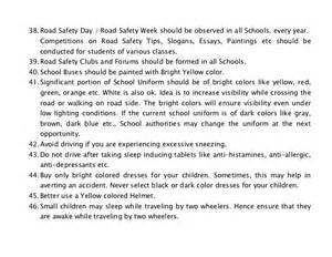 Child Safety At Home Essay by Road Safety Highway Safety Tips For Parents And Teachers How To Pr