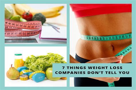 7 Things Dont Tell You by 7 Things Weight Loss Companies Don T Tell You Aimin