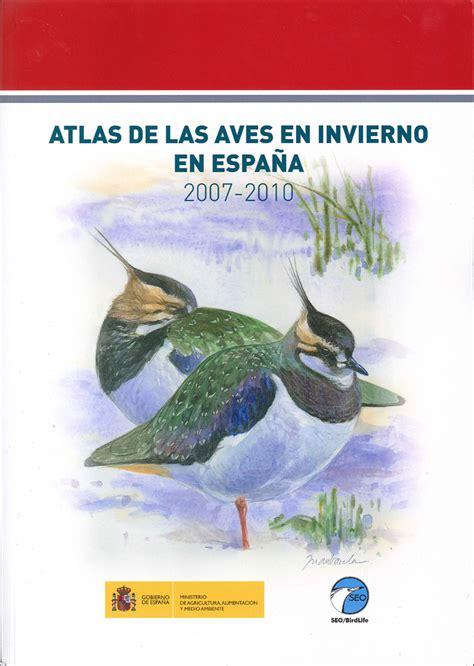 aves de espaa atlas de las aves en invierno en espa 241 a 2007 2010 lynx edicions