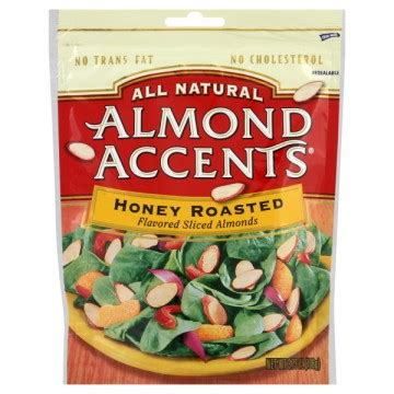 All About Almonds 2 almond accents flavored sliced almonds honey roasted all