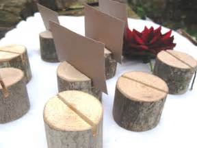 place card holders items similar to 60 place card holders from a fallen tree on etsy