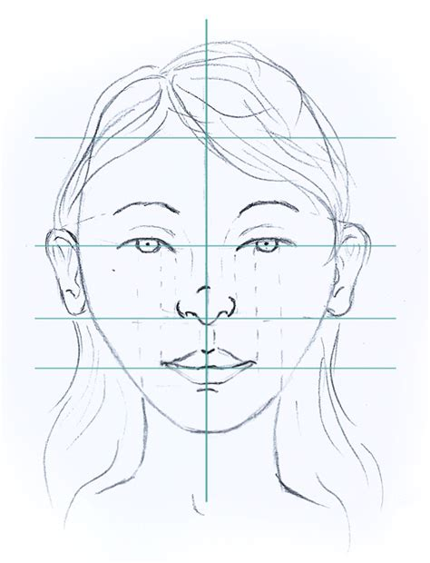 drawing with measurements how to draw secrets