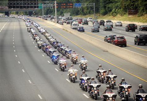 expect delays for funeral procession for officer