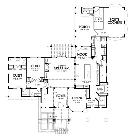 vacation home floor plans yukon harbor vacation home plan 011s 0066 house plans and more