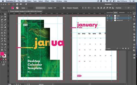 template adobe illustrator a5 prisma plantilla gratis de un calendario a5 para