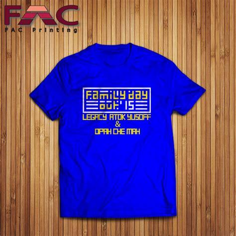Baju Print Natal Family 1 t shirt printing murah tshirt printing malaysia