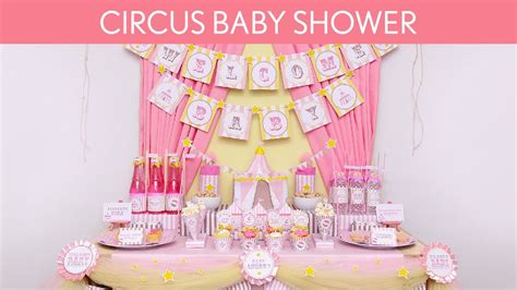 Circus Baby Shower Ideas by Circus Pink Baby Shower Ideas Circus Pink S8