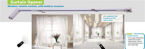 home automation automatic curtain opener view curtain