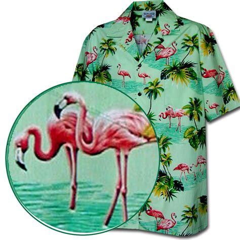 ls5815 tropical flamingo shirt flamingo shirts tropical