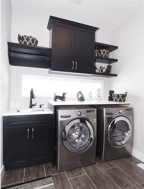 Laundry Room Cabinets Ideas Small And Black Laundry Room Design Home Decorating Trends Homedit