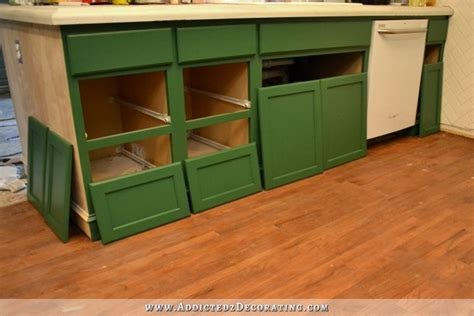 Replacing Kitchen Cabinet Doors And Drawer Fronts by Kitchen Progress Weekend Heartbreak