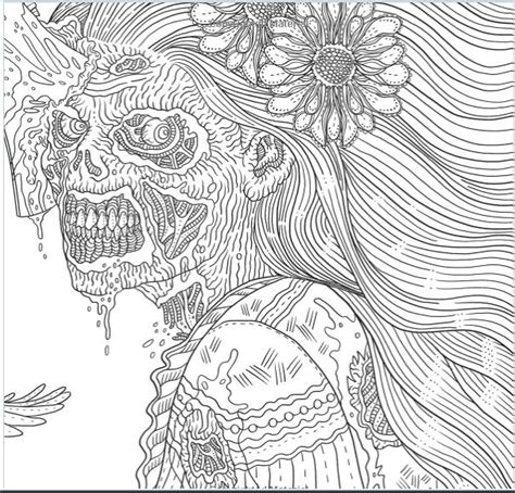 1000 Images About Dark Coloring On Pinterest Horror Coloring Pages For Adults