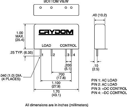 crydom solid state relay wiring diagram efcaviation