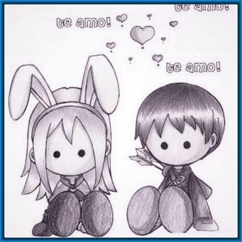 imagenes anime faciles de dibujar imagenes para colorear de animes enamorados archivos