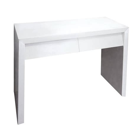 White Dressing Tables With Drawers by Angle Drawer Dressing Table In White By Out There
