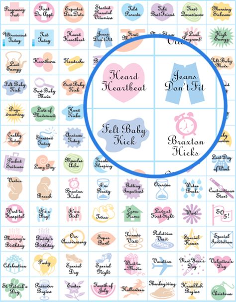 Calendar For Pregnancy Pregnancy Stickers And Baby S Year Stickers From The