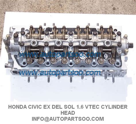 how it works cars 1999 honda civic head up display p2j sohc cylinder head 96 99 early type no core honda civic ex del sol 1 6 vtec