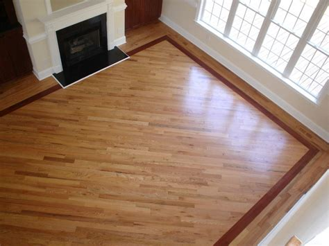 Hardwood Floor Borders Ideas Hardwood With Borders Living Room By Freedom Flooring Restorations Remodeling Co