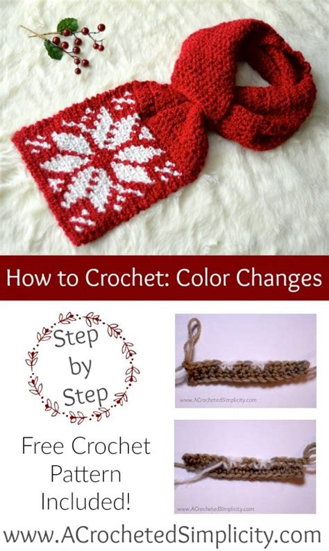 how to change color in crochet crochet color change tutorial free crochet tutorials