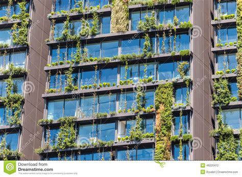Vertical Garden Facade Plant Facade Vertical Garden Stock Photo Image 48220412