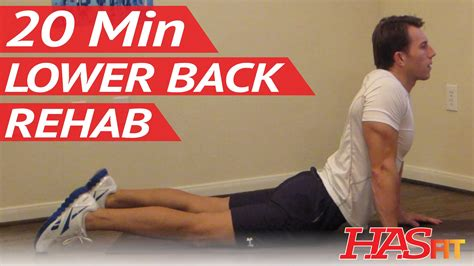 Back Detox Treatment by 20 Min Lower Back Rehab Lower Back Stretches For Lowe