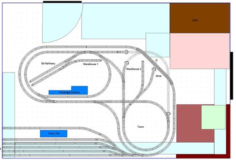layout v21 new to o gauge quot l quot shaped plans o gauge railroading on
