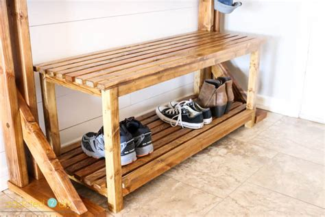 pottery barn rustic bench pottery barn inspired rustic bench addicted 2 diy