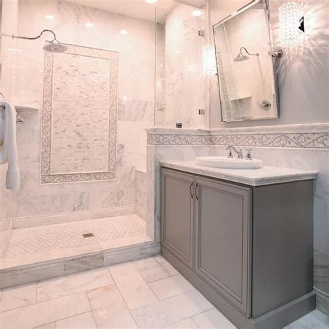 Carrara Marble Bathroom Ideas Hton Carrara Marble Tile Bathroom Thetileshop Marble Tile Inspiration Pinterest Marble